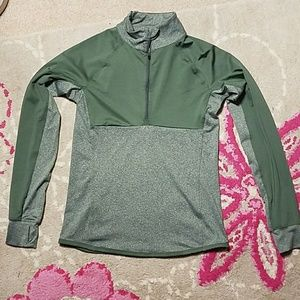 90 Degrees By Reflex Green Half Zip